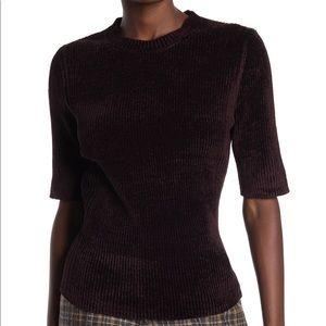 NWT Tahari chenille elbow sleeve sweater NWT